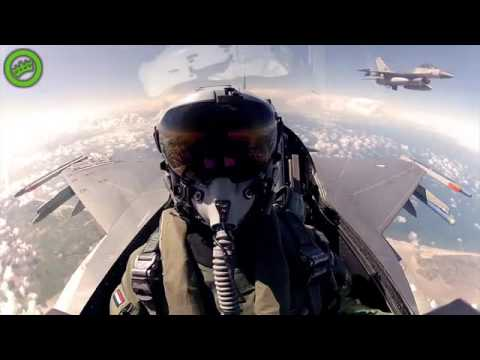 "f 16 go pro HD ""Netherlands Air Force"""