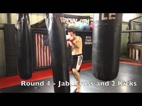Brood 9 Kickboxing Tabata Drill