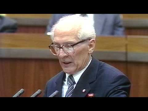 Neonazis in der BRD - Was Honecker 1989 dazu zu sagen hatte