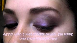 """Smokey Purple Look for Brown Eyes Tutorial"" Using ""Kat Von D True Love Palette"" Thumbnail"