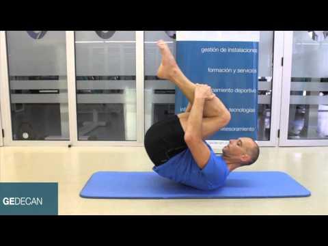 Ejercicio Pilates Rodar como una pelota  ( rolling like a ball  ) ,ejercicios nivel básico Pilates