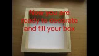 How To Make A Shadow Box