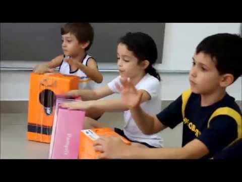 COLÉGIO OBJETIVO INDAIATUBA - Infantil 5 - aula de música