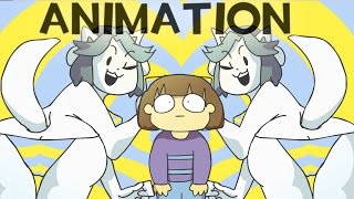 Undertale Animation - High on Tem Flakes [Music Video] Temmie