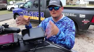 "Miles ""SONAR"" Burghoff with BBE's Garmin LiveScope EchoMAP 106sv and LVS12 Bundle!"
