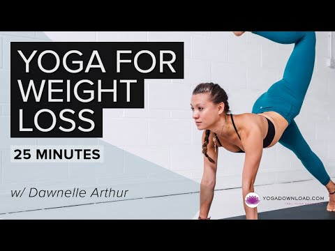 Yoga for Weight Loss 1 - FREE 20 minute Yoga for Weight Loss Class