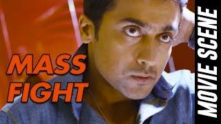 Mass Fight Scene - Anjaan   Suriya   Samantha   Vidyut Jamwal   Linguswamy