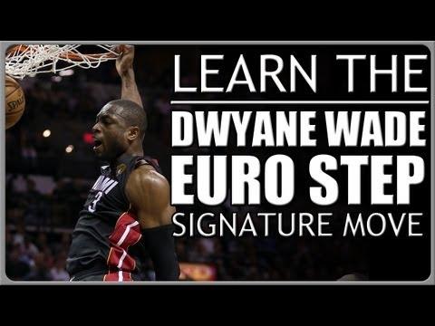 Dwyane Wade Euro Step: Signature Basketball Moves (HD)