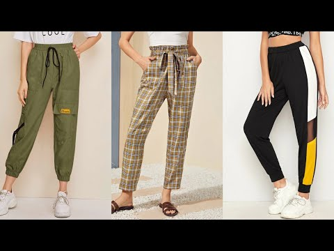 Girls Daily Wear Trousers Pant Design 2020 |Casual Summer Trouser Pants Design For Woman |Girls Pant
