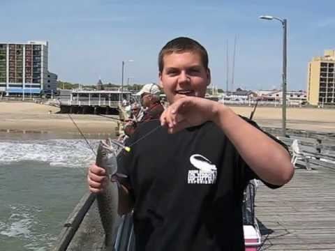 Catching Speckled Trout On The Virginia Beach Fishing Pier