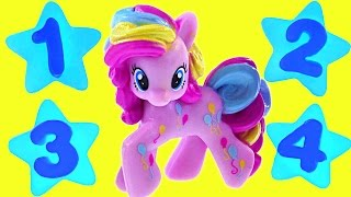 Counting Numbers With My Little Pony - Learn To Count Toy Ponies In English