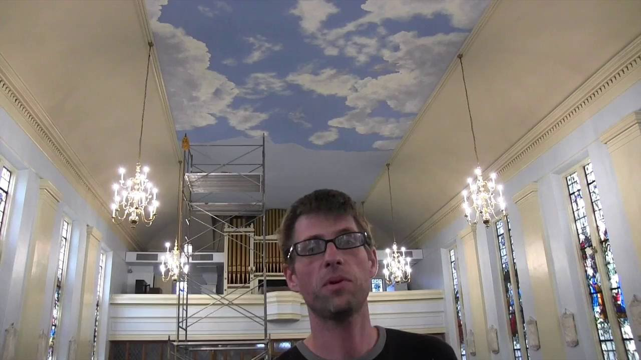 Painting Clouds On A Ceiling - YouTube