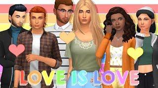 LOVE IS LOVE ❤️💛💚 | Create A Sim
