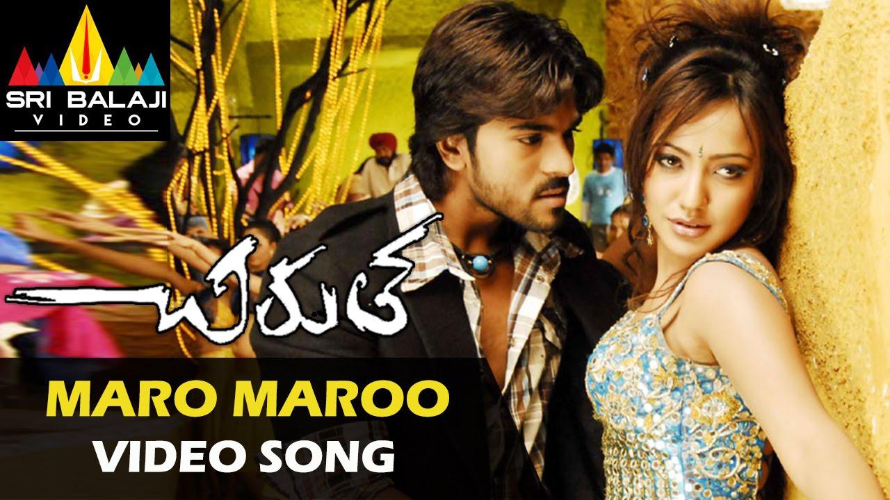 Chirutha songs   love you ra video song   telugu latest video.
