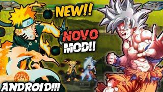 NEW MOD!! NOVO NARUTO VS BLEACH MUGEN PARA ANDROID!! (+GAMEPLAY)