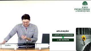 Não desista Há esperança - Lamentações 3.21-29 - Rev. Thiago Santos