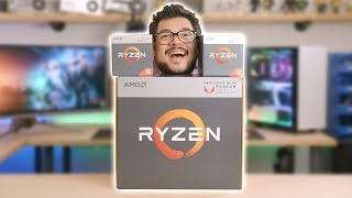 World's First Ryzen APU Unboxing!