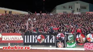 Шинник vs Спартак 0:1, 30.10.2013, Фаер шоу фанатов Спартака