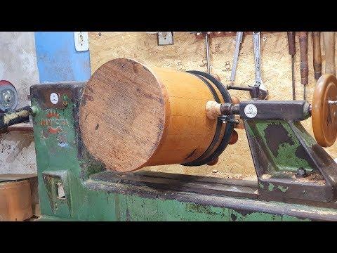 Woodturning - This one was brilliant // Essa ficou BRILHANTE ganhei dinheiro