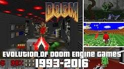 Evolution of Doom Engine Games 1993-2016