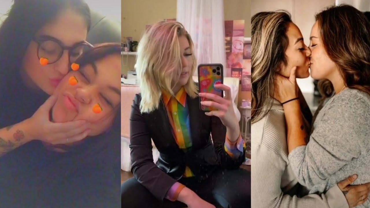 Bixesual and lesbian ticktok