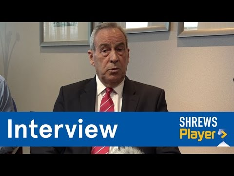 INTERVIEW | Chairman Roland Wycherley on Paul Hurst - Town TV
