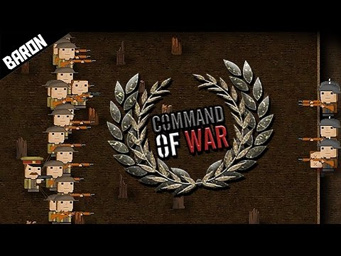 This Game is EPIC, WW1 TRENCH RTS - Command of War Gameplay