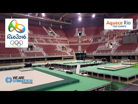 Aquece Olympic Test Event, Rio (BRA)–How Artistic gymnasts qualify for Rio 2016-We are Gymnastics!