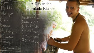 A Day in the Gurukula Kitchen