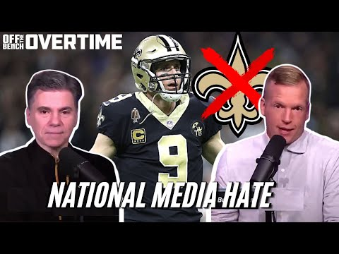 The National Media Hates The Saints