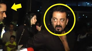 Sanjay Dutt's FUNNY Moment With Reporter