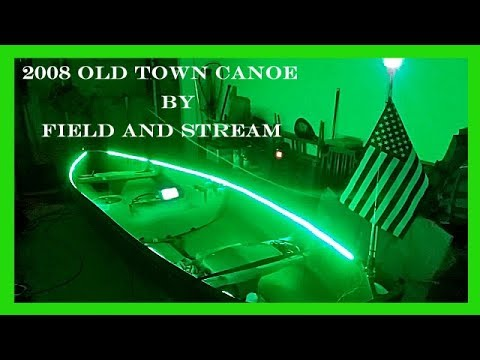 Restoring & Modifying an Old Town Canoe