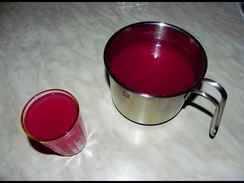 Как сварить жидкий кисель из замороженных ягод и крахмала