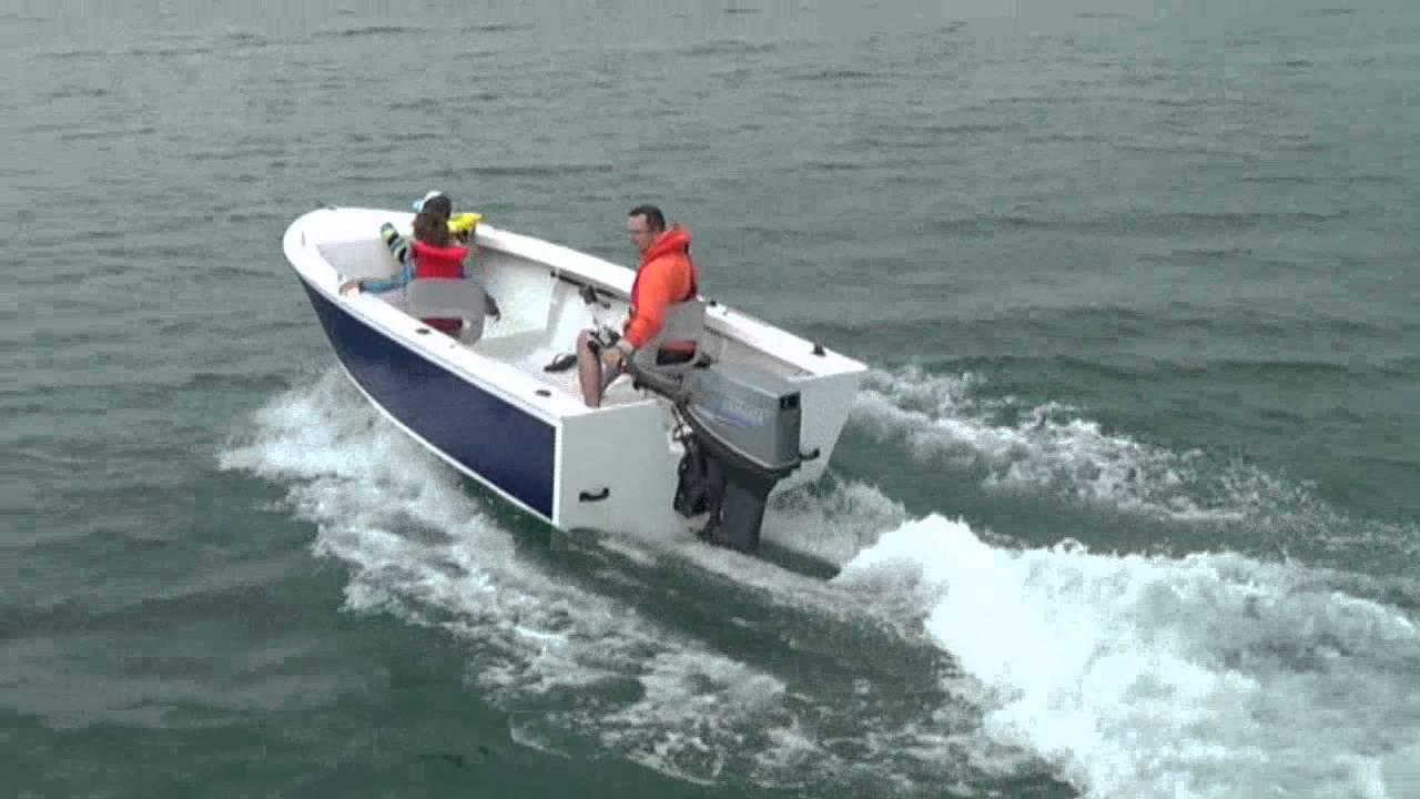 Edgetracker 426 Open Offshore Power Boat Design - YouTube
