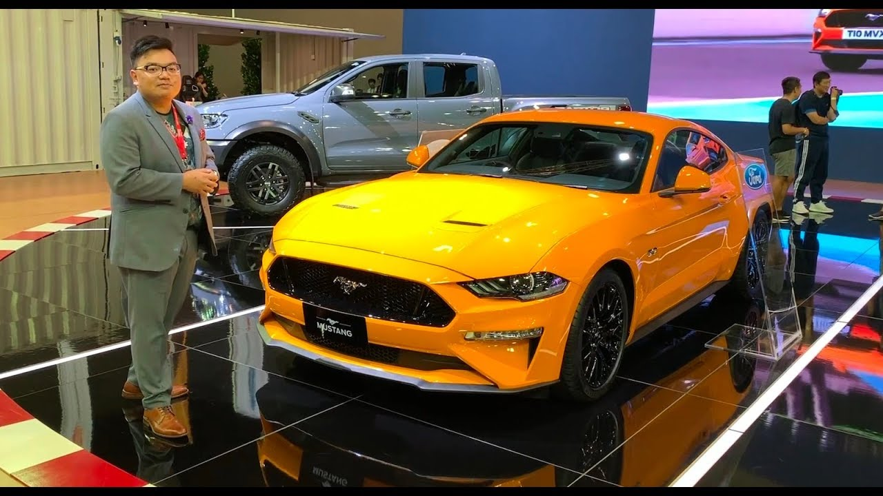 Klims18 2019 ford mustang and ranger raptor in malaysia