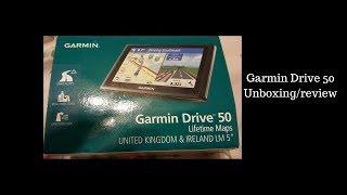 Garmin Drive 50 Lifetime Maps Unboxing/Review