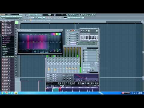 Drum and Bass sampled Breaks in FL studio tutorial