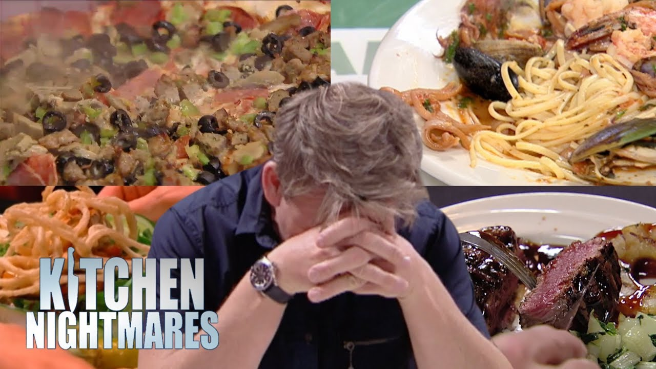 The Most DISGUSTING FOOD EVER on Gordon Ramsay's Kitchen Nightmares