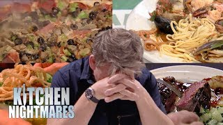 The Most DISGUSTING FOOD EVER on Gordon Ramsay\'s Kitchen Nightmares