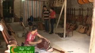 Nghề làm đàn Guitar - Thành Phố Hôm Nay [HTV9 -- 17.07.2013]
