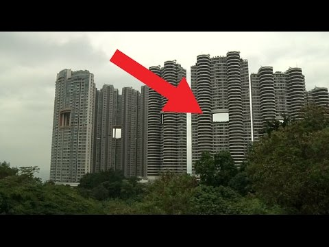 Here's why Hong Kong Skyscrapers Have Holes