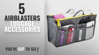 Top 10 Airblasters Luggage Accessories [2018]: Airblasters Nylon Handbag Insert Comestic Gadget