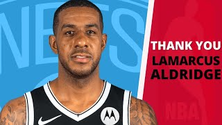 LaMarcus Aldridge Brookly Nets Debut - LaMarcus Aldridge Brooklyn Nets Highlights