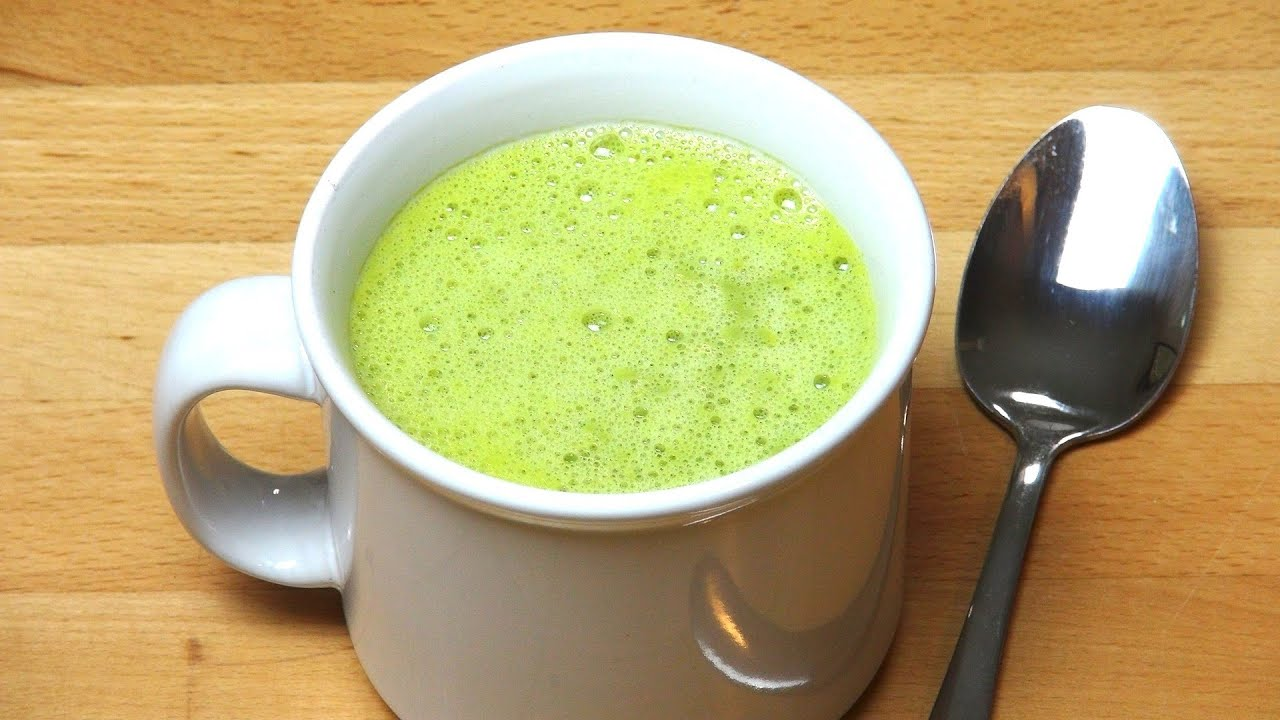 5 Minute Pea and Pesto Soup - RECIPE