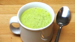 5 Minute Pea And Pesto Soup - Recipe