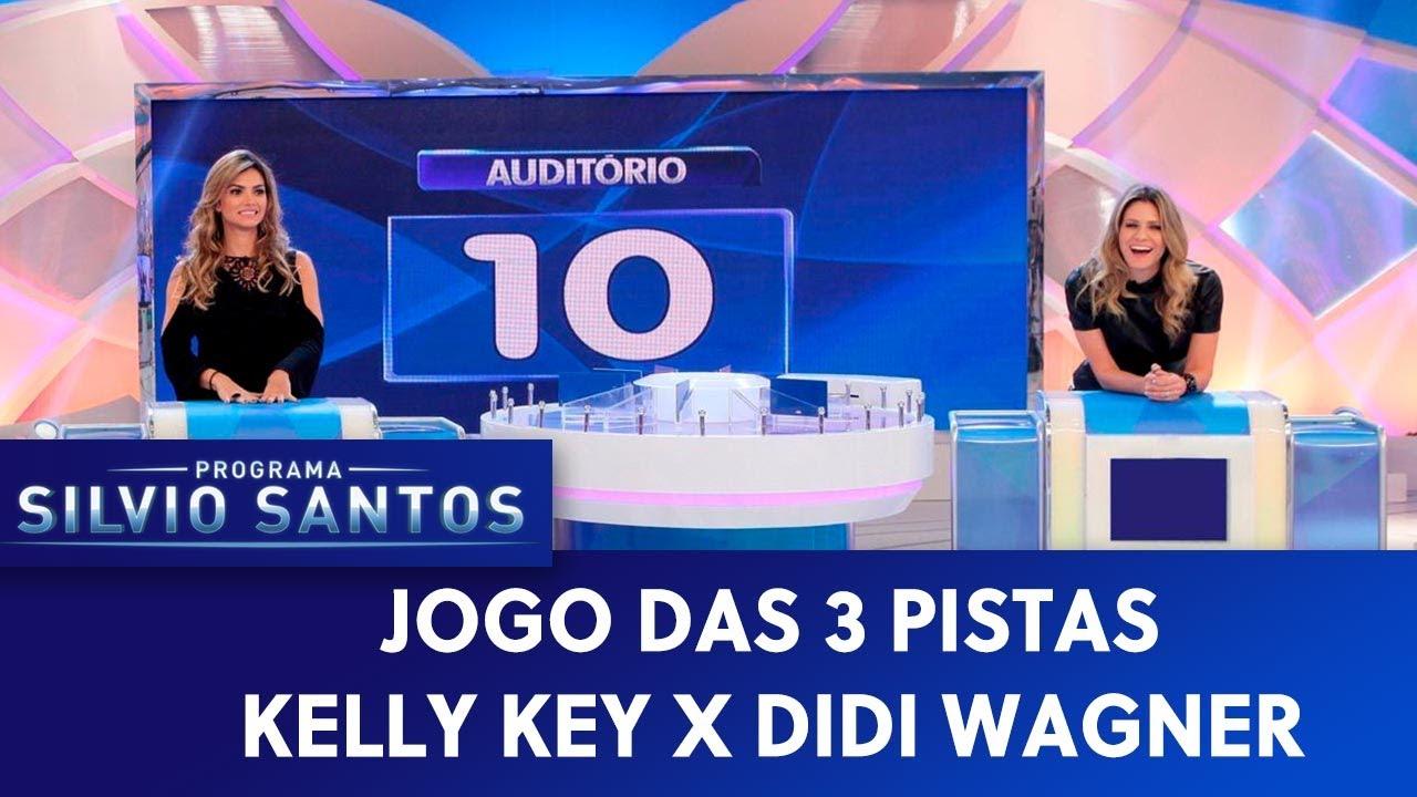 Jogo das 3 Pistas - Kelly Key x Didi Wagner | Programa Silvio Santos (16/08/20)