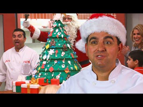 Buddy's Christmas Tree Cake! | Cake Boss