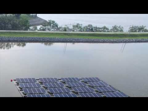 Floating PV System By SolarGy