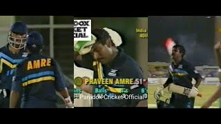 Pravin Amre UNBEATEN 84 Knock Helped India To A Great Victory Against SA, 1992 | *SUPER RARE*