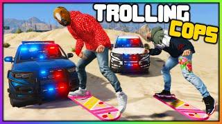 GTA 5 Roleplay - HOVERBOARDS TROLLING COPS | RedlineRP
